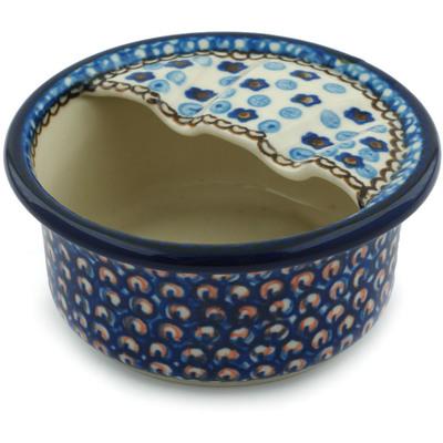 Polish Pottery 4-inch Ashtray | Boleslawiec Stoneware | Polmedia H2958C