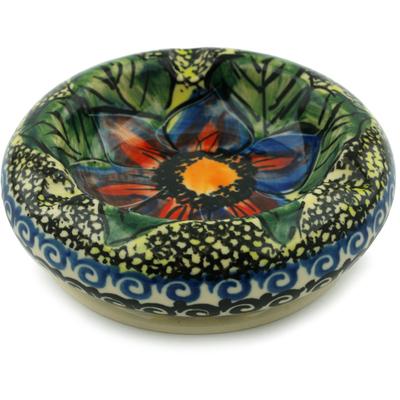 Polish Pottery 4-inch Ashtray | Boleslawiec Stoneware | Polmedia H6675I