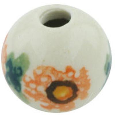Polish Pottery 1-inch Bead | Boleslawiec Stoneware | Polmedia H5549H