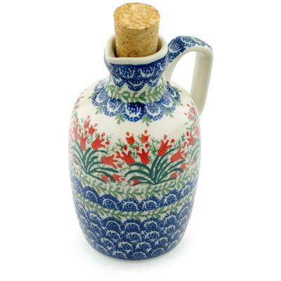 Polish Pottery 18 oz Bottle | Boleslawiec Stoneware | Polmedia H6076I