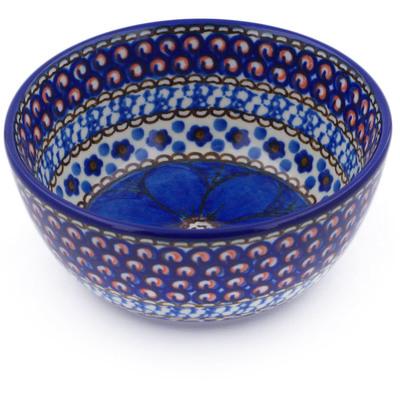 Polish Pottery 5-inch Bowl | Boleslawiec Stoneware | Polmedia H0001I