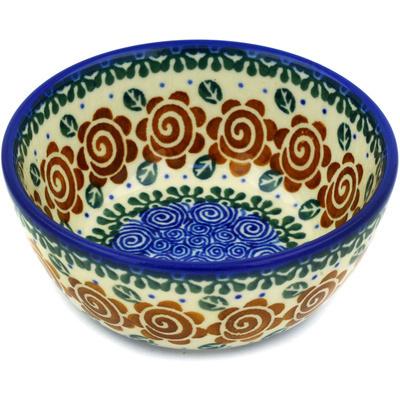 Polish Pottery 5-inch Bowl | Boleslawiec Stoneware | Polmedia H1668D