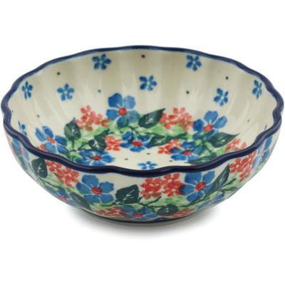 Polish Pottery 5-inch Bowl | Boleslawiec Stoneware | Polmedia H1784I