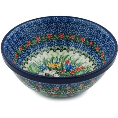 Polish Pottery 6-inch Bowl | Boleslawiec Stoneware | Polmedia H0954I