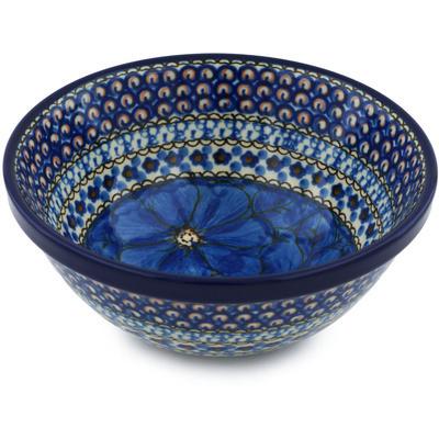Polish Pottery 6-inch Bowl | Boleslawiec Stoneware | Polmedia H2220H