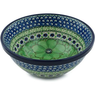 Polish Pottery 6-inch Bowl | Boleslawiec Stoneware | Polmedia H0953I