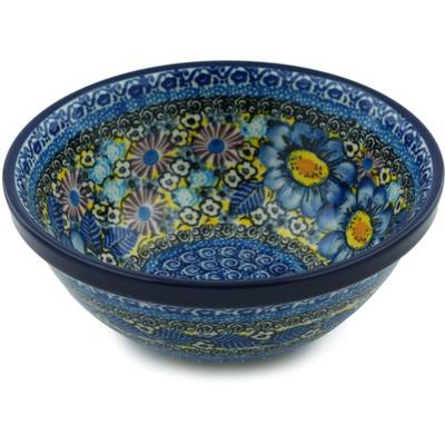 Polish Pottery 6-inch Bowl | Boleslawiec Stoneware | Polmedia H0951I