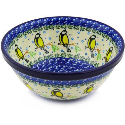 Polish Pottery 6-inch Bowl | Boleslawiec Stoneware | Polmedia H4178F