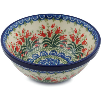 Polish Pottery 6-inch Bowl | Boleslawiec Stoneware | Polmedia H8400H