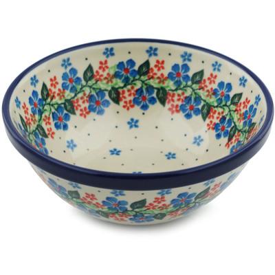 Polish Pottery 6-inch Bowl | Boleslawiec Stoneware | Polmedia H0909H