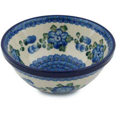 Polish Pottery 6-inch Bowl | Boleslawiec Stoneware | Polmedia H2962A