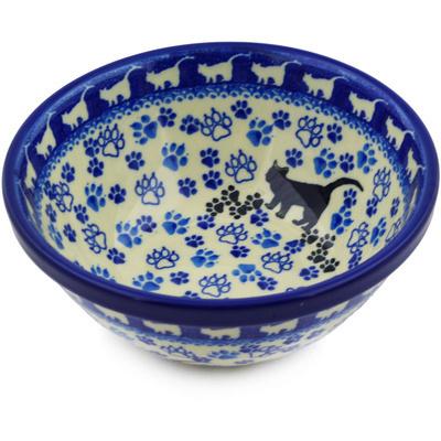 Polish Pottery 6-inch Bowl | Boleslawiec Stoneware | Polmedia H5819E