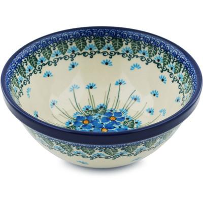 Polish Pottery 6-inch Bowl | Boleslawiec Stoneware | Polmedia H0672I
