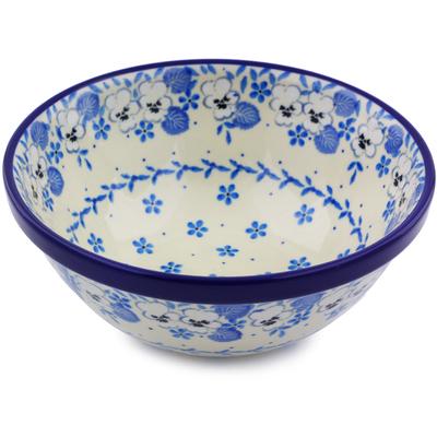 Polish Pottery 6-inch Bowl | Boleslawiec Stoneware | Polmedia H6718I