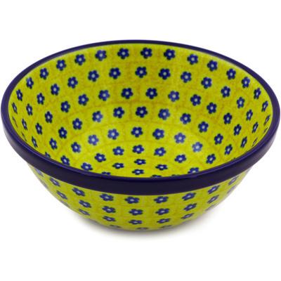 Polish Pottery 6-inch Bowl | Boleslawiec Stoneware | Polmedia H8206B