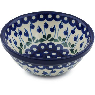 Polish Pottery 6-inch Bowl | Boleslawiec Stoneware | Polmedia H2967A
