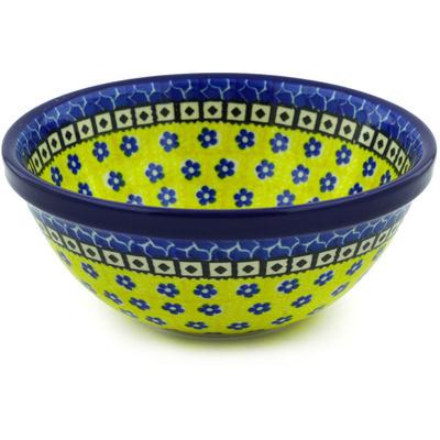 Polish Pottery 6-inch Bowl | Boleslawiec Stoneware | Polmedia H9753E