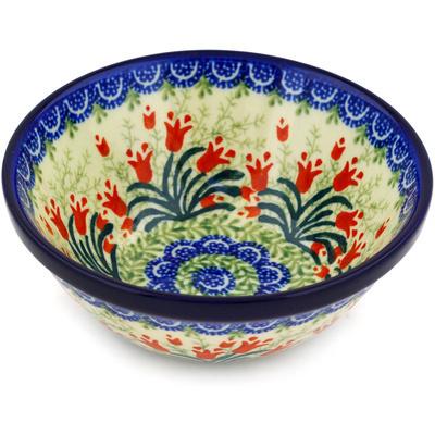 Polish Pottery 5-inch Bowl | Boleslawiec Stoneware | Polmedia H4078D