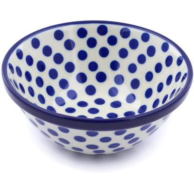 Polish Pottery 5-inch Bowl | Boleslawiec Stoneware | Polmedia H9878A