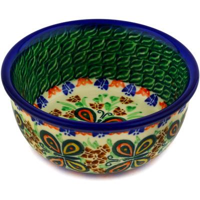 Polish Pottery 5-inch Bowl | Boleslawiec Stoneware | Polmedia H8953C