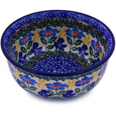 Polish Pottery 5-inch Bowl | Boleslawiec Stoneware | Polmedia H5016I