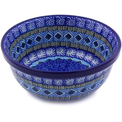 Polish Pottery 6-inch Bowl | Boleslawiec Stoneware | Polmedia H6747I