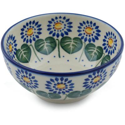 Polish Pottery 5-inch Bowl | Boleslawiec Stoneware | Polmedia H0043I