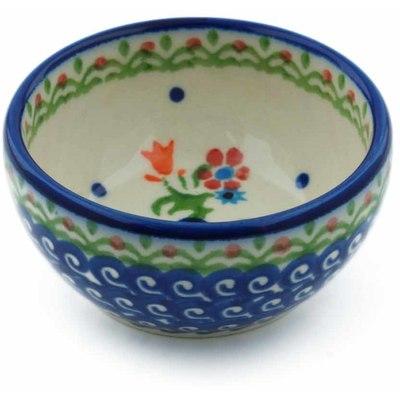 Polish Pottery 3-inch Bowl | Boleslawiec Stoneware | Polmedia H0082I