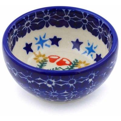 Polish Pottery 3-inch Bowl | Boleslawiec Stoneware | Polmedia H1230J