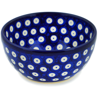 Polish Pottery 5-inch Bowl | Boleslawiec Stoneware | Polmedia H0454C