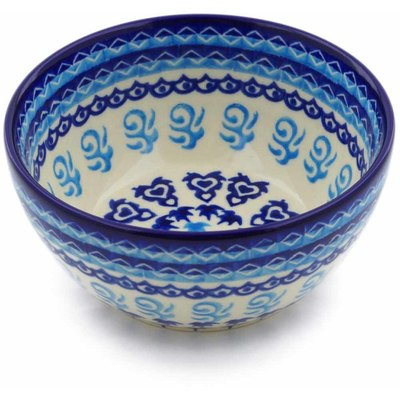 Polish Pottery 5-inch Bowl | Boleslawiec Stoneware | Polmedia H0529C