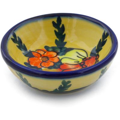 Polish Pottery 3-inch Bowl | Boleslawiec Stoneware | Polmedia H0892F