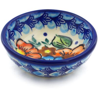 Polish Pottery 3-inch Bowl | Boleslawiec Stoneware | Polmedia H0696F