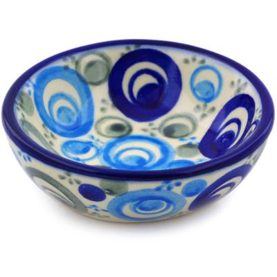 Polish Pottery 3-inch Bowl | Boleslawiec Stoneware | Polmedia H0206J