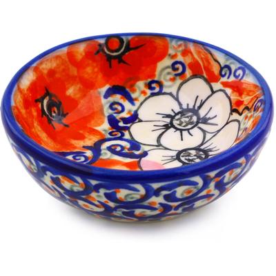 Polish Pottery 3-inch Bowl | Boleslawiec Stoneware | Polmedia H0203J