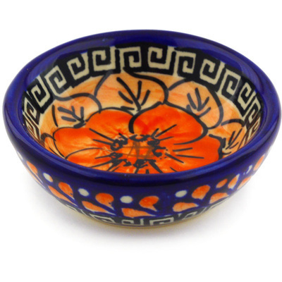Polish Pottery 3-inch Bowl | Boleslawiec Stoneware | Polmedia H1934G