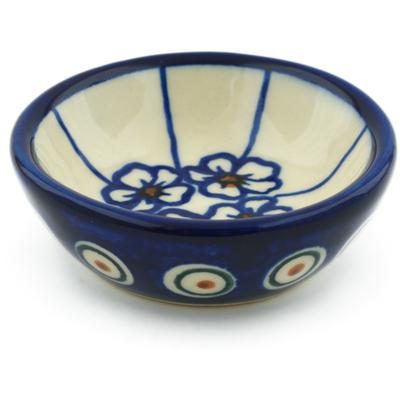 Polish Pottery 3-inch Bowl | Boleslawiec Stoneware | Polmedia H0582F