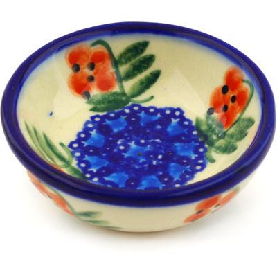 Polish Pottery 3-inch Bowl | Boleslawiec Stoneware | Polmedia H1677G