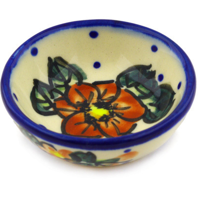 Polish Pottery 3-inch Bowl   Boleslawiec Stoneware   Polmedia H1987G