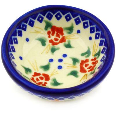 Polish Pottery 3-inch Bowl | Boleslawiec Stoneware | Polmedia H2324G