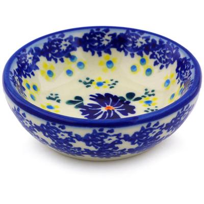 Polish Pottery 3-inch Bowl | Boleslawiec Stoneware | Polmedia H0202J