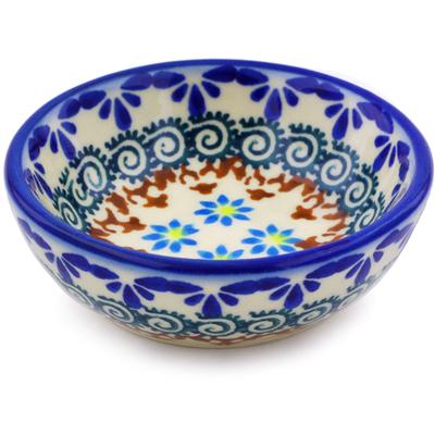 Polish Pottery 3-inch Bowl | Boleslawiec Stoneware | Polmedia H0201J
