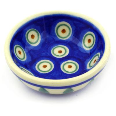 Polish Pottery 3-inch Bowl | Boleslawiec Stoneware | Polmedia H6993E