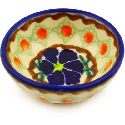 Polish Pottery 3-inch Bowl | Boleslawiec Stoneware | Polmedia H2186G