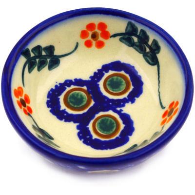 Polish Pottery 3-inch Bowl | Boleslawiec Stoneware | Polmedia H9179F