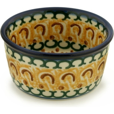 Polish Pottery 4-inch Bowl | Boleslawiec Stoneware | Polmedia H5690A