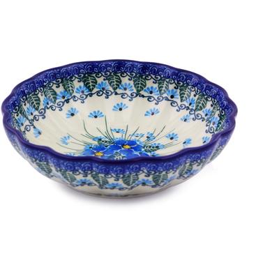 Polish Pottery 6-inch Bowl | Boleslawiec Stoneware | Polmedia H0776I