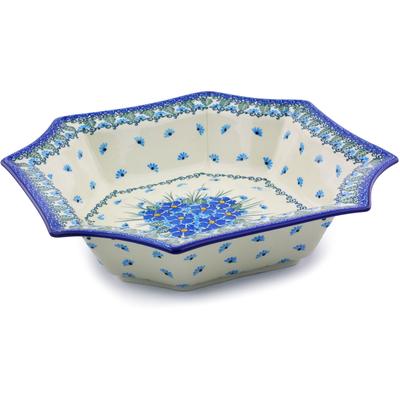 Polish Pottery 7-inch Bowl | Boleslawiec Stoneware | Polmedia H0784I