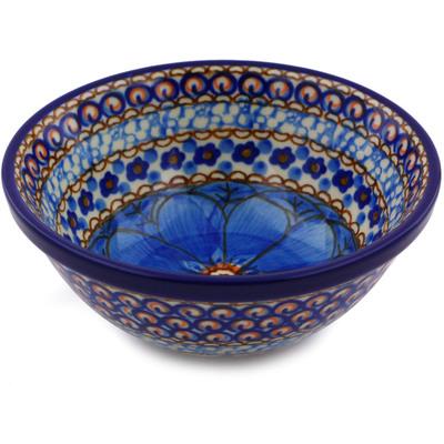 Polish Pottery 5-inch Bowl | Boleslawiec Stoneware | Polmedia H8405I