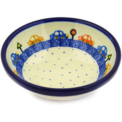 Polish Pottery 6-inch Bowl   Boleslawiec Stoneware   Polmedia H4237D